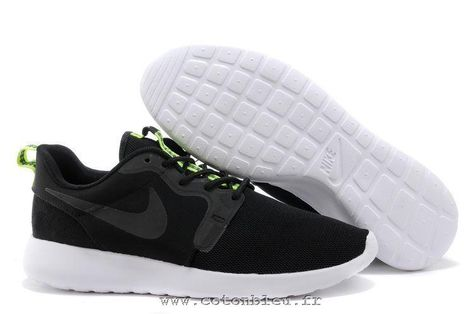 finest selection df165 bb12d Cheap Nike Roshe Run Hyperfuse Black Anthracite Venom Green Men s Shoes. roshe  run homme noir et blanc ...