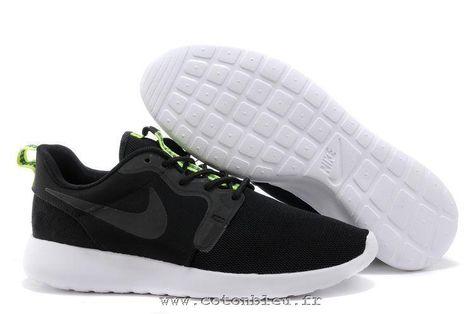 best service 2b904 ef903 Cheap Nike Roshe Run Hyperfuse Black Anthracite Venom Green Men's Shoes. roshe  run homme noir et blanc ...
