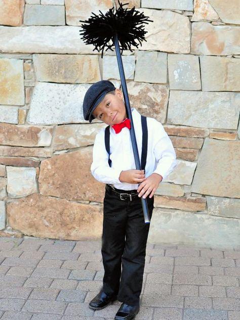 Photo of Kid's Halloween Costume: Chimney Sweep