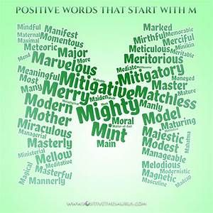 Meaningful List Of Positive Adjectives That Start With M With