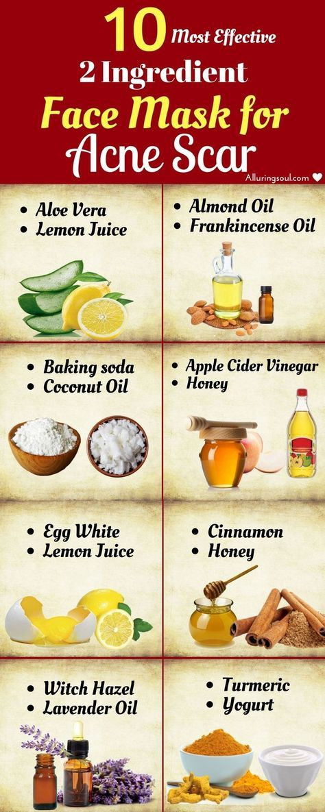 10 Most Effective 2 Ingredient Face Mask For Acne Scar