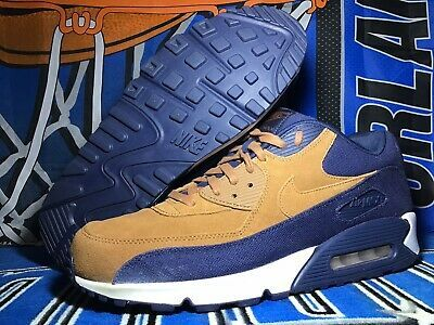 Nike Air Max 90 Prm 700155 201 Size 12.5 US Ale Brown