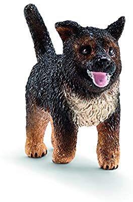 Amazon Com Schleich German Shepherd Puppy Toy Figure Schleich