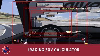 iRacing FOV Calculators | iRacing Guides and Reviews | Calculator