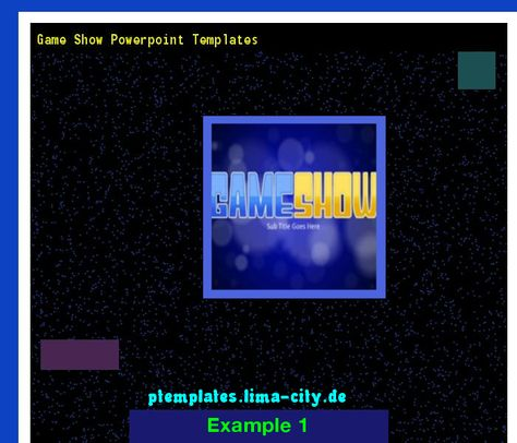 Game show templates for powerpoint. Powerpoint Templates 133636 ...