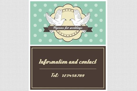 Pigeon Business Card