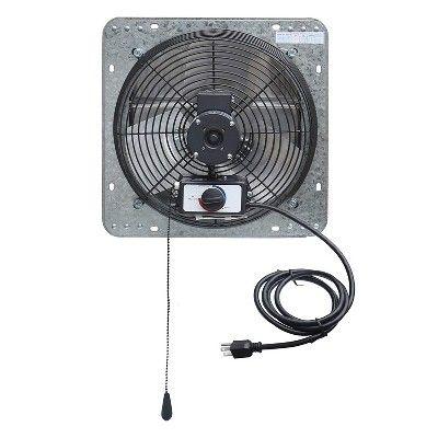 variable speed shutter exhaust fan