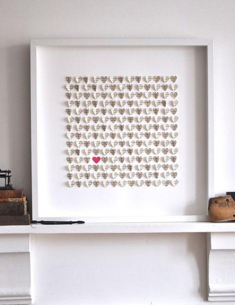 Image of Little Vintage Hearts - Pride and Prejudice-Large
