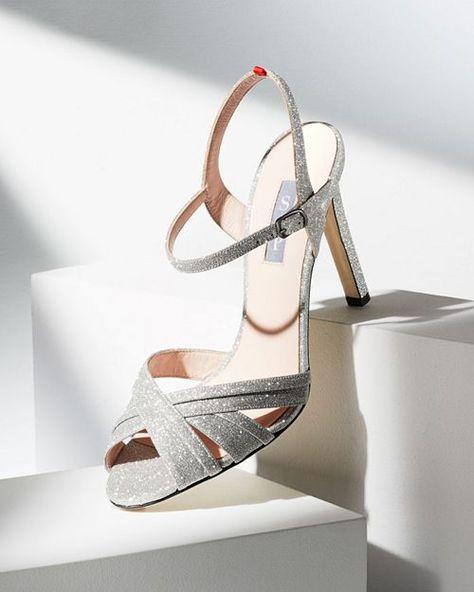 7385b1b6294 SJP by Sarah Jessica Parker - Women s Cadence Glitter High-Heel Sandals