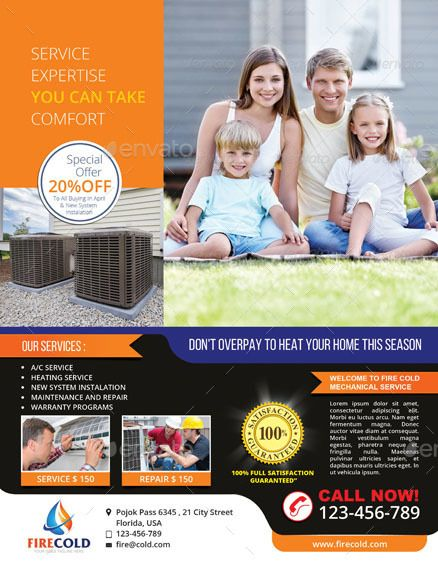 Heating And Cooling Service Solution Affiliate Cooling Ad