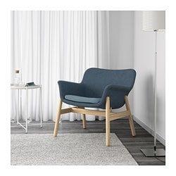 Vedbo Armchair Gunnared Blue Gunnared Blue Ikea Quality