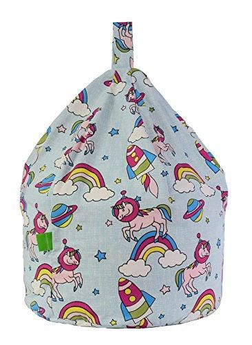 Wondrous Unicorn Clouds Rainbow Bean Bag Gaming Chair Adult Size Beatyapartments Chair Design Images Beatyapartmentscom