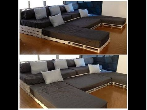 Möbel aus europaletten sofa  Möbel aus Paletten | Bemerkenswerte Designs | Pinterest ...