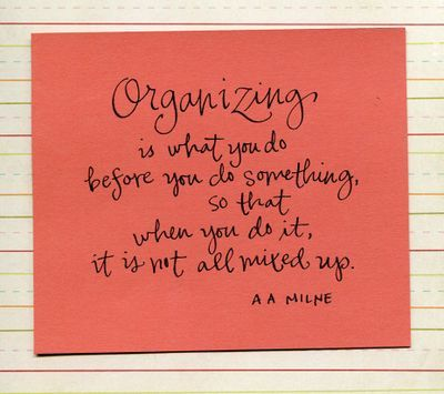 Great reason and inspiration for why we organize!