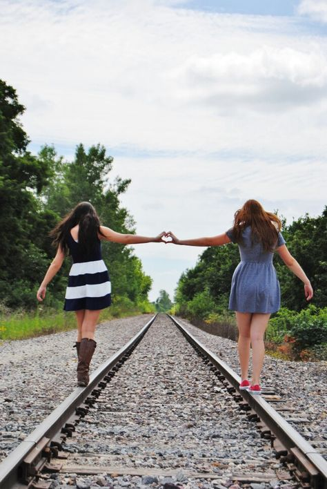 This is one of my favorite photo ideas for us! We totally have to take a pic like this!!! @Larissa Weston