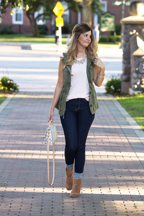 61 smart yet cute spring outfits for school 47