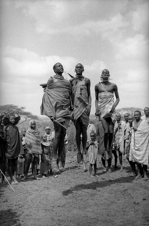 Masai tribesmen, Kenya 1979