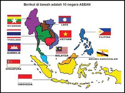Bendera Negara Anggota Asean Bendera Buku Kurikulum