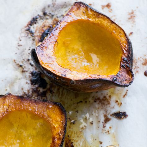 Classic Brown Sugar Roasted Acorn Squash Recipe Food Recipes
