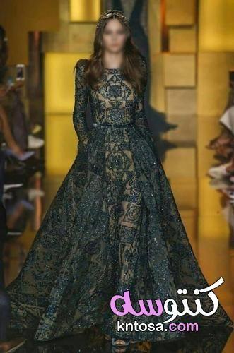 اجمل فساتين خطوبة 2019 فساتين خطوبة 2019 للمحجبات أجمل فساتين خطوبه منفوشة للعرايس Kntosa Com 29 19 156 Formal Dresses Long Dresses Formal Dresses