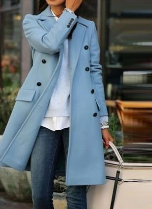 gran descuento disfruta del envío gratis talla 7 Wool & Wool Blend Long Sleeve Lapel Buttons Coats | jtv in ...