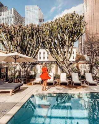 Hotel Figueroa Dtla Boutique Hotel In Downtown Los Angeles Ca Los Angeles Hotels Best Hotels Hotel
