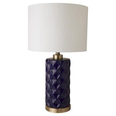 Global Gatherings Hampton Ceramic Lamp With Linen Shade Reviews