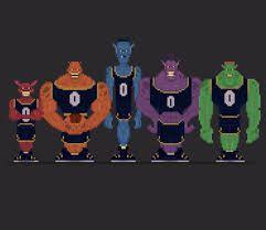 13+ Monstars back info