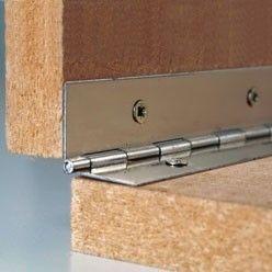 Comment Bien Poser Une Charniere A Piano Quincaillerie D Ameublement Bricolage Facile Bricolage