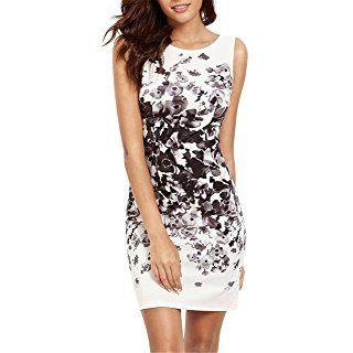 100% original zuverlässigste offizielle Fotos Damen Kleid LOBTY Sommer Kurz Etuikleid Sommerkleid ...