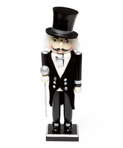 Look at this New Year's Eve Nutcracker Figurine on #zulily today!
