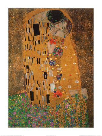 The Kiss, Gustav Klimt This is one of my favorite paintings