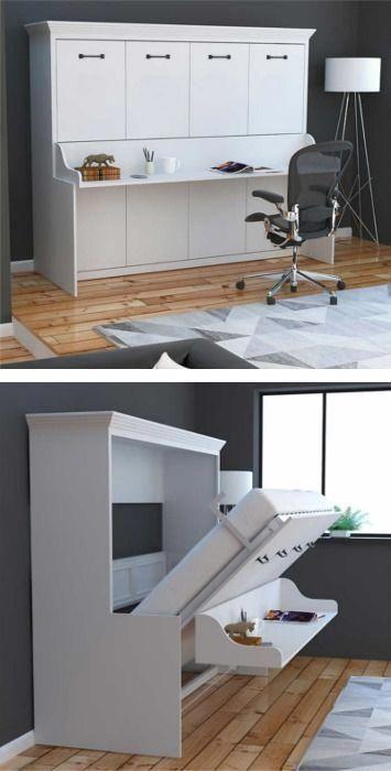 You Can Turn Your Finished Basement Into A Proper Guest Room En 2020 Meuble Design Idees De Lit Mobilier De Salon
