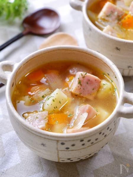沢山 スープ 具 ダイエットの強い味方!栄養もバッチリ☆「具だくさんスープ10選♪」