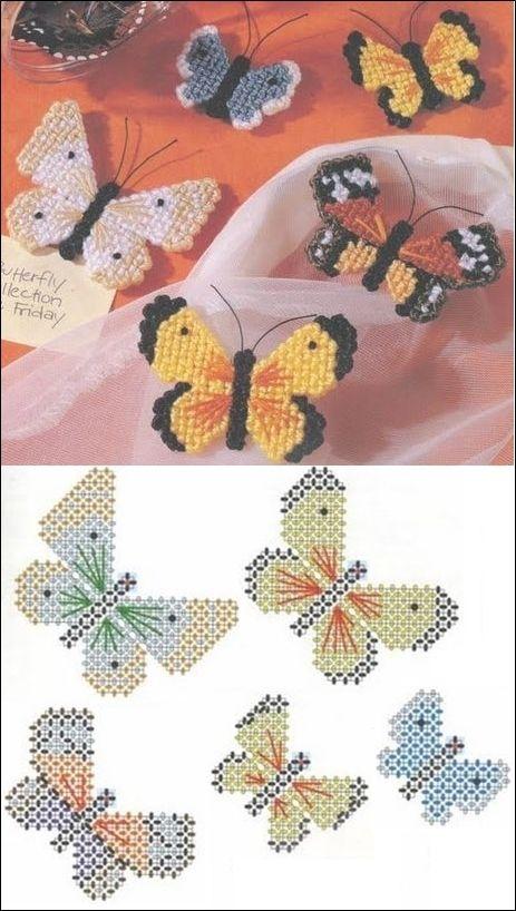 Plastic Canvas Butterflies Magnets Plastic Canvas Crafts Plastic Canvas Ornaments Plastic Canvas Patterns,Best House Design App