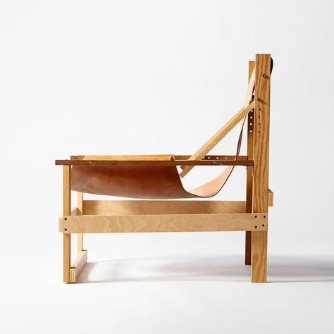 Toro Lounge Chair Smoke Chocolate