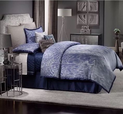 New Jlo Jennifer Lopez Center Stage Size Queen 4pc Comforter Set
