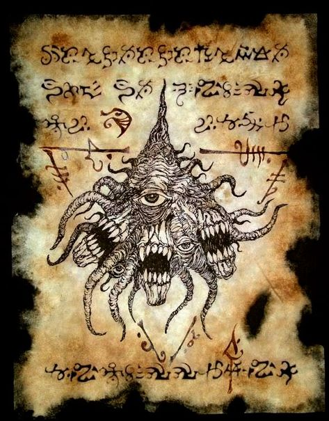 Cthulhu Mythos Necronomicon Evil Dead Livre de The Dead Octopus Badge Broche