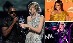Vmas Chiefs Begged Beyonce To Stay After Kanye West Taylor Swift Row Kanye Kanye West Beyonce