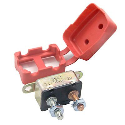 12 V Circuit Breaker Automatic Reset For Automotive Rv Marine Boat 30 Amp In 2020 Marine Boat Ebay Circuit