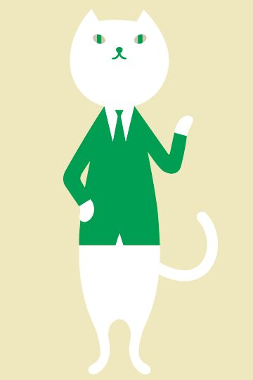 コミュニケーションキャラクター りそにゃ りそなホールディングス キャラクターコンセプト キュートなイラスト キャラクターデザイン