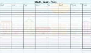 How To Play The Stadt Land Fluss Game Cool Words Word Games Dream Hotels