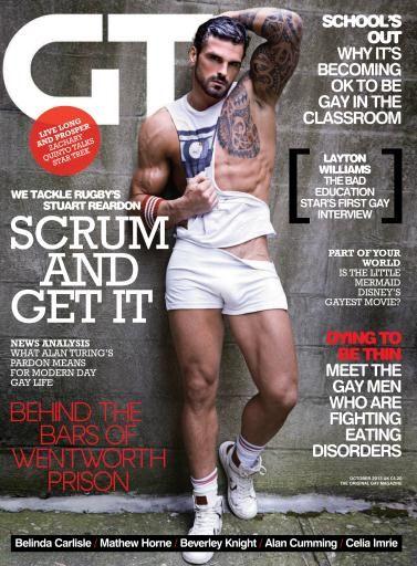 Gay Times - Stuart Reardon October 13