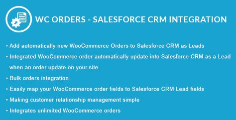 WooCommerce Orders – Salesforce CRM Integration | Codelib App