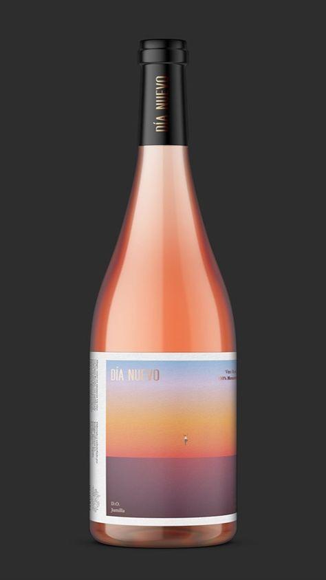 Dia wine packaging design by Rubio & del Amo