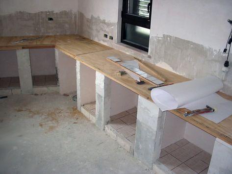 lu0027eco del mondo COSTRUIRE UNA CUCINA IN MURATURA CON MOBILI IKEA - küche aus porenbeton