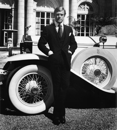 Robert Redford in The Great Gatsby / The Greatest Moments in the Fashion Career of Ralph Lauren | Vanity Fair
