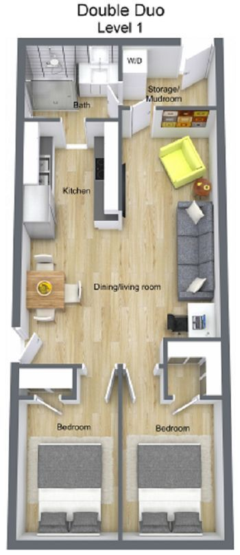 Double Duo   Custom Container Living #containerhome #shippingcontainer ~ Great pin! For Oahu architectural design visit http://ownerbuiltdesign.com