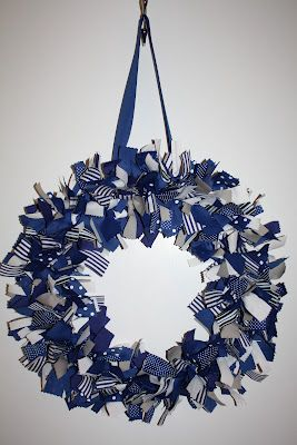 Duke Ribbon Wreath #Katydid
