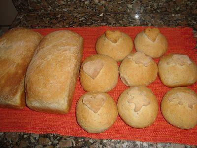MENINA PRENDADA: Pão de Batatas Integral...